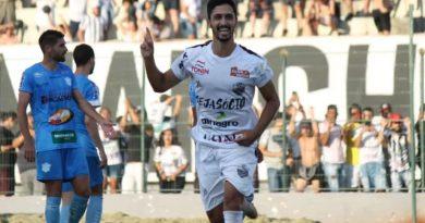 Lateral é o artilheiro do Comercial   Crédito: Rafael Alves/Comercial FC