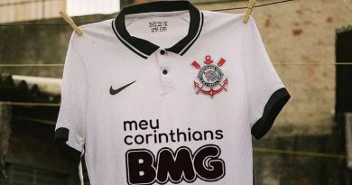Corinthians lançou camisa neste domingo