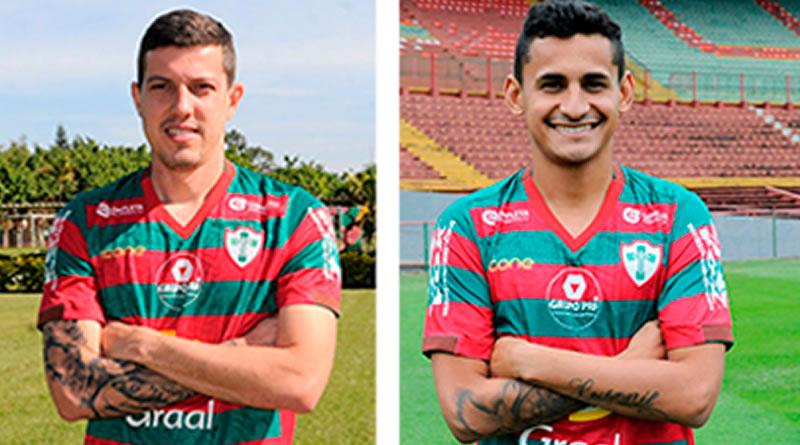Portuguesa anunciou mais dois reforços