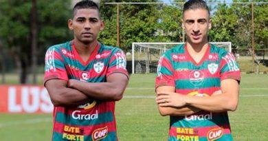 Mais dois jogadores foram contratados pela Portuguesa