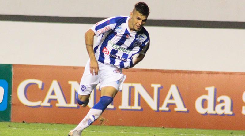 Jogador completou cinco anos no Paysandu