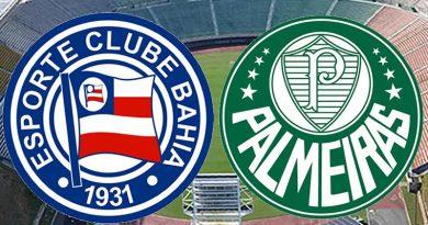 Bahia x Palmeiras será no Pituaçu