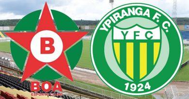 Boa Esporte x Ypiranga é válido pelo grupo B