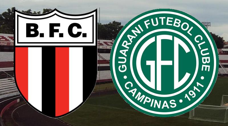 Botafogo x Guarani será no Santa Cruz