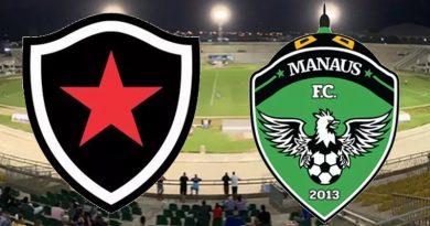 Botafogo x Manaus é válido pela segunda rodada da Série C
