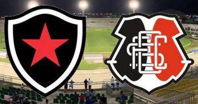 Botafogo x Santa Cruz será em João Pessoa