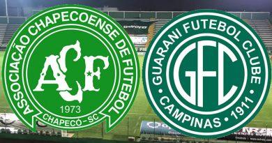 Chapecoense x Guarani será um confronto inédito