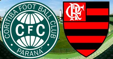 Coritiba x Flamengo terá tramissão pelo Premiere