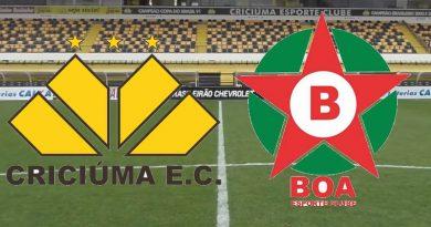 Criciúma x Boa Esporte será transmitido pelo Dazn