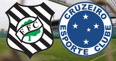 Figueirense x Cruzeiro fecha a terceira rodada da Série B