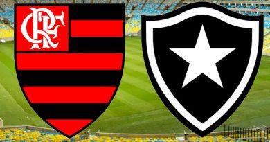 Flamengo x Botafogo será às 11 horas deste domingo