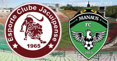 Jacuipense x Manaus será no Pituaçu