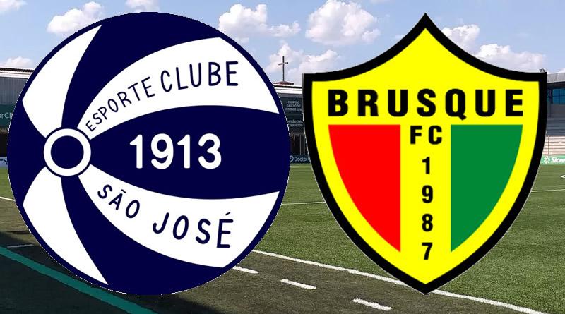 São José x Brusque abrirá a terceira rodada da Série C
