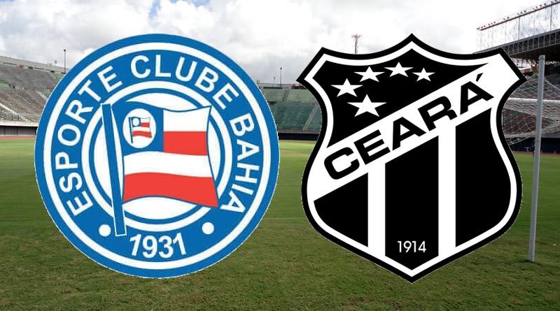 Bahia x Ceará será nesta terça-feira no Pituaçu