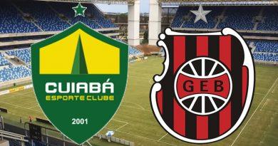 Cuiabá x Brasil de Pelotas abre a Série B