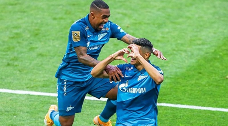 Douglas Santos marcou na vitória do Zenit
