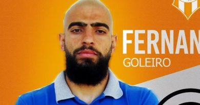 Fernando já falou como jogador do clube | Crédito: divulgação Atibaia