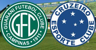 Guarani x Cruzeiro será em Campinas