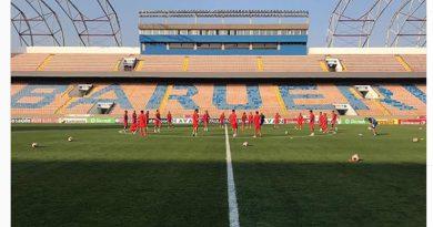 Guarani finalizou sua preparação na Arena Barueri