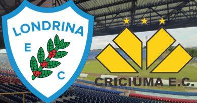 Londrina x Criciúma fecha a primeira rodada da Série C