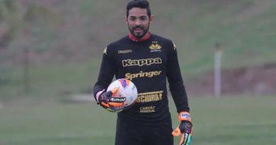 Luiz acertou sua ida para o Oeste   Crédito: Fernando Ribeiro/Criciúma EC