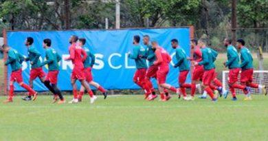 Portuguesa fez último treino em São Paulo antes de encarar o Sertãozinho na volta da Série A2
