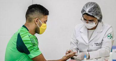 Sampaio Corrêa aguarda resultados dos novos exames | Crédito: Lucas Almeida/L17 Comunicação