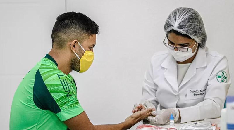 Sampaio Corrêa aguarda resultados dos novos exames   Crédito: Lucas Almeida/L17 Comunicação