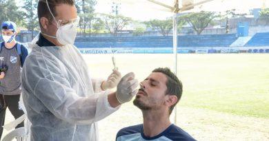 Testes foram realizados no dia 25 | Crédito: Bruno Castilho/EC Taubaté