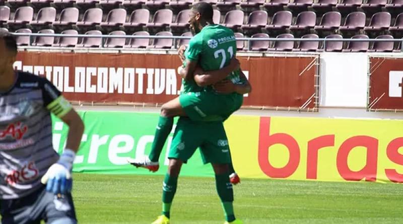 Waguininho fez o gol da virada | Crédito: David Oliveira/GuaraniPress