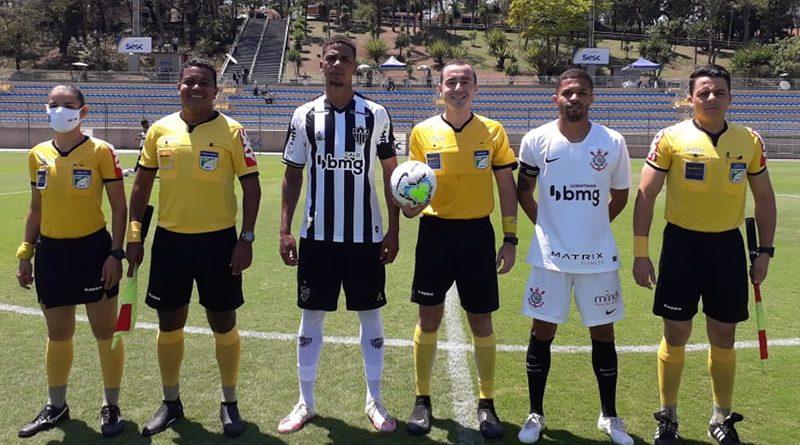 Jogo foi na manhã deste domingo | Crédito: Fabrício Almeida / Atlético Mineiro