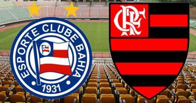 Saiba onde assistir Bahia x Flamengo ao vivo