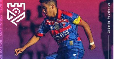 Romarinho é o 20ª reforço do Grêmio Prudente para a Segunda Divisão