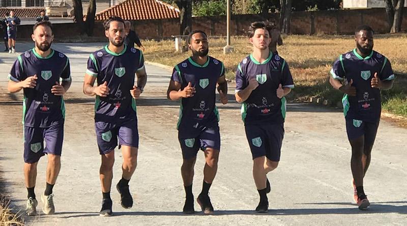 Time treina visando Segunda Divisão do Mineiro
