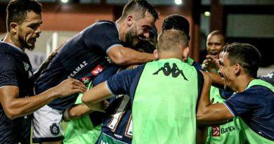 Gol da vitória contra o Manaus saiu no final do jogo | Crédito: Samara Miranda/Remo