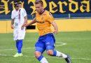 Fábio Alemão animado com o gol que marcou no meio de semana   Crédito: Tiago Winter
