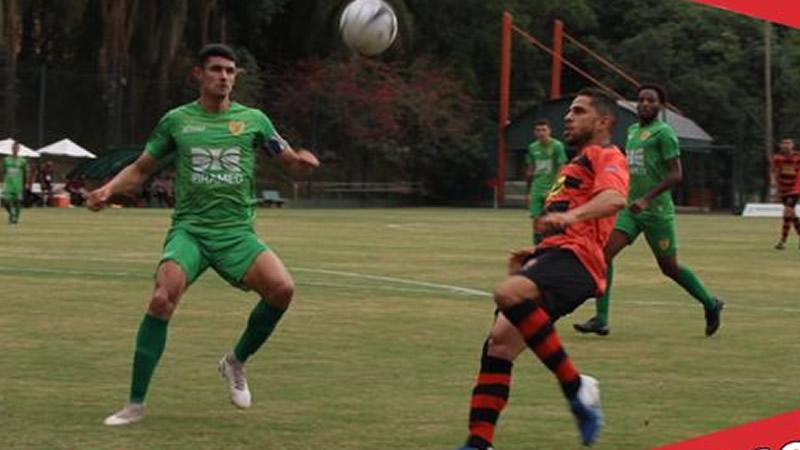 Brasilis e Flamengo fizeram jogo movimentado | Crédito: divulgação Flamengo