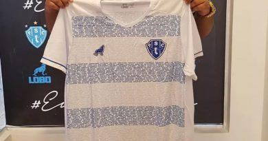 Camisa do Paysandu carrega nome dos torcedores