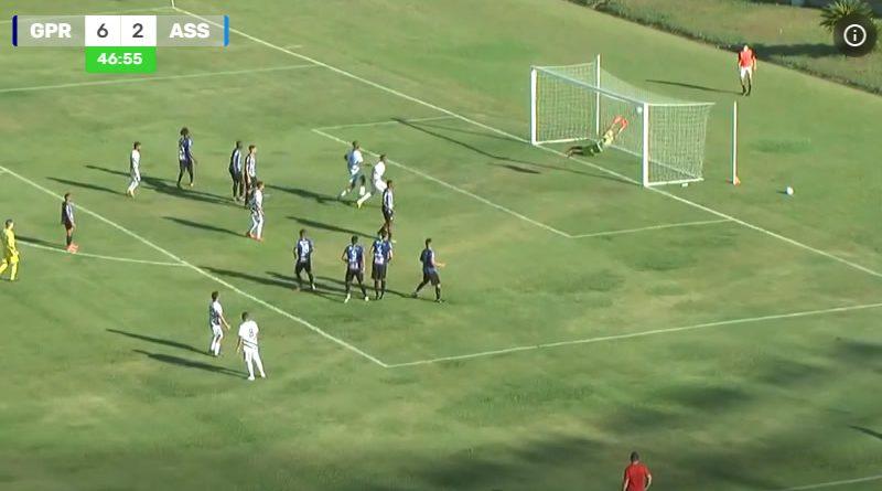 Gol de falta de Romarinho fechou a goleada