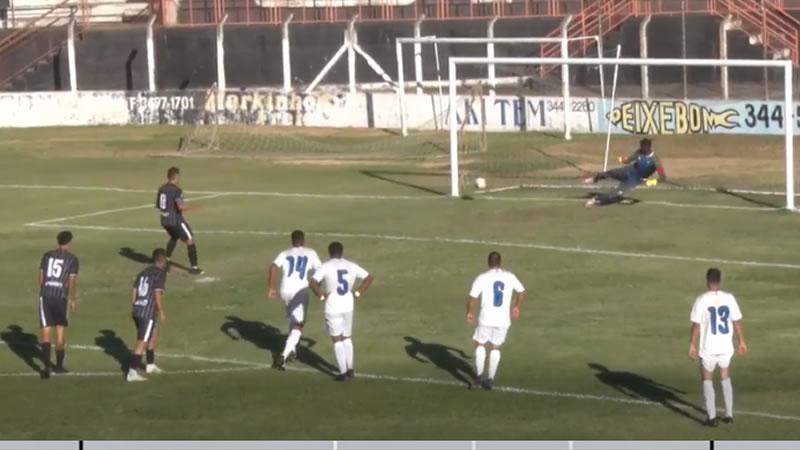 Gol de pênalti garantiu empate do Independente nos acréscimos