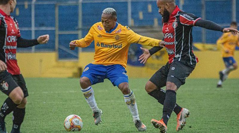 Juliano marcou o gol da vitória do Pelotas