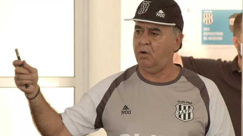 Marcelo Oliveira confirmou time titular da Ponte