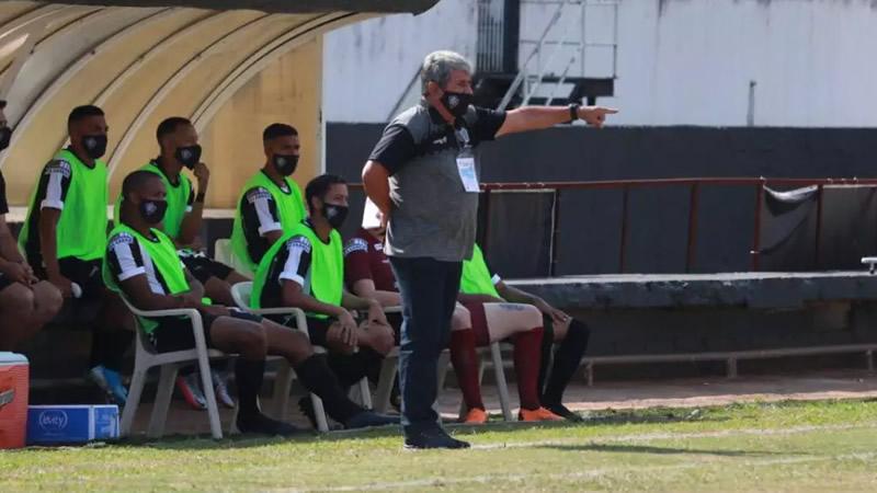 Parrada deixou o Rio Branco após estreia com empate | Crédito: Alex Ferreira / Rio Branco