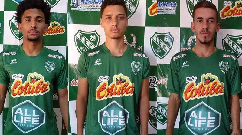 Tanabi apresentou mais três reforços para a Segunda Divisão
