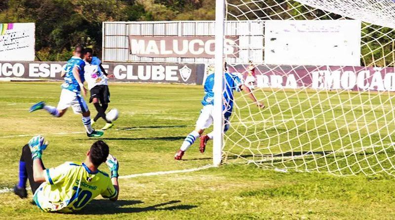 Brendon aproveita gol vazio para fazer o segundo do Rio Branco | Crédito: Alex Ferreira/Rio Branco EC