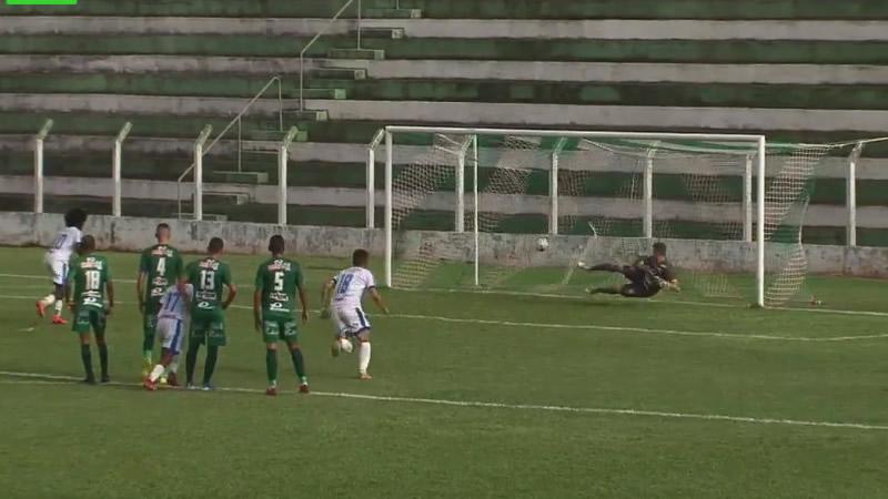 Gol de pênalti nos acréscimos livrou o Andradina da derrota