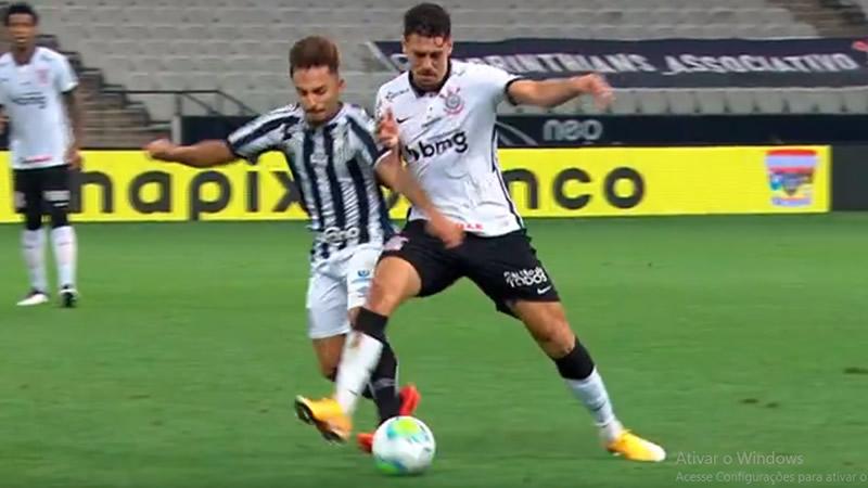 Avelar se machucou no último minuto da partida contra o Santos