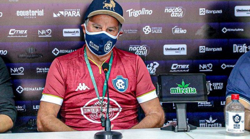 Bonamigo lamentou falta de atenção no lance do gol | Crédito: Samara Miranda/Remo