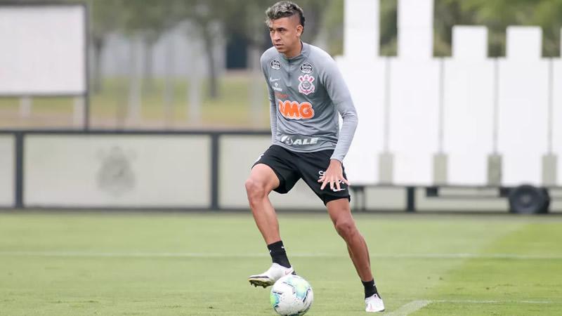 Cantillo voltou a treinar no Corinthians | Crédito: Rodrigo Coca/Ag. Corinthians