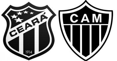 Saiba onde assistir Ceará x Atlético MG ao vivo